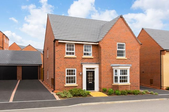 "Thumbnail Detached house for sale in ""Holden"" at Kingston Way, Market Harborough"