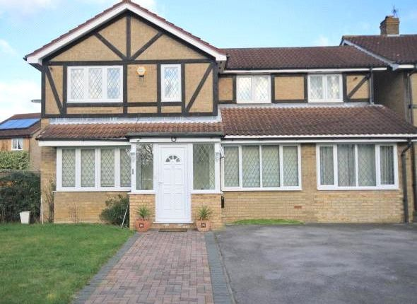 Thumbnail Detached house to rent in Caddy Close, Egham, Surrey