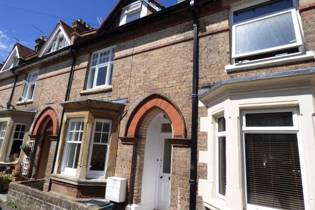 Thumbnail Terraced house to rent in Dukes Avenue, Dorchester, Dorset