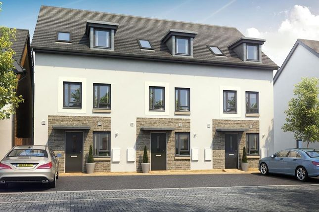 "Thumbnail Terraced house for sale in ""Padstow"" at Poplar Close, Plympton, Plymouth"