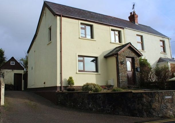 Thumbnail Semi-detached house to rent in The Ridgeway, Saundersfoot