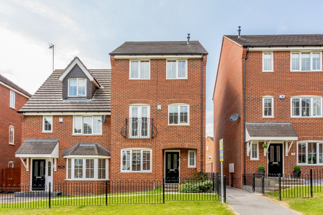 Thumbnail Semi-detached house for sale in Fenton Gate, Middleton, Leeds