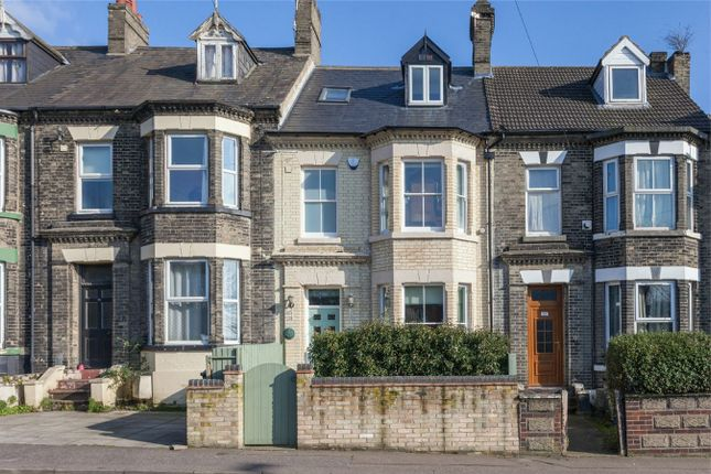 Thumbnail Terraced house for sale in Clarence Road, Thorpe Hamlet, Norwich