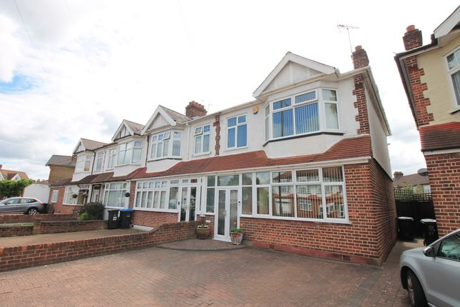 3 bed end terrace house for sale in Halstead Road, London N21