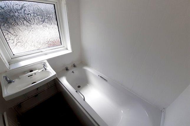 Bathroom of Heol Brychan, Gellideg, Merthyr Tydfil CF48