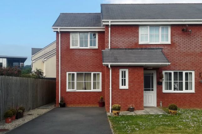 Thumbnail Semi-detached house to rent in Glan Rheidol, Aberystwyth