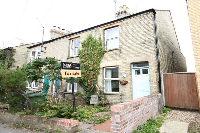 Thumbnail End terrace house for sale in Greens Road, Cambridge