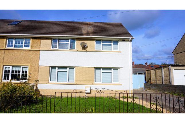 Thumbnail Semi-detached house for sale in Ynys Cadwyn, Neath