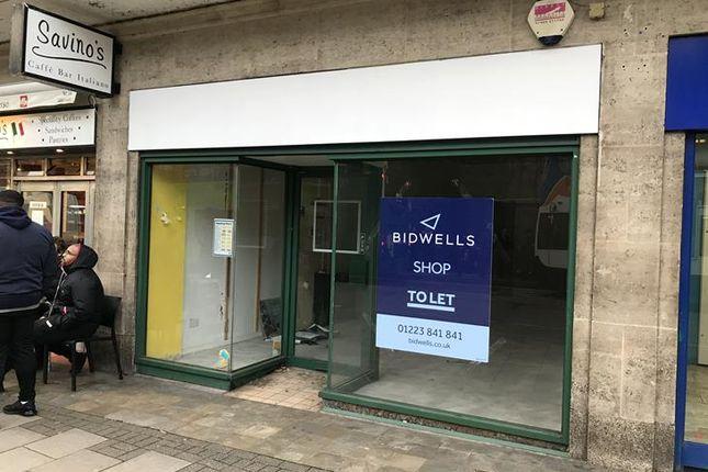 Thumbnail Retail premises to let in 4 Emmanuel Street, Cambridge