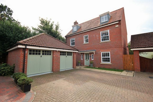 Thumbnail Detached house for sale in Whitebeam Close, Mile End, Colchester, Essex