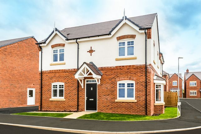 Thumbnail Detached house for sale in Mantle Close, Copcut, Droitwich