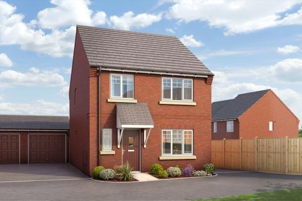 "Thumbnail Property for sale in ""The Alton At Bardon View, Coalville"" at Bardon Road, Coalville"
