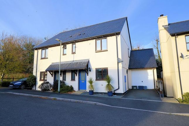 Thumbnail Semi-detached house for sale in Warren Road, Mary Tavy, Tavistock