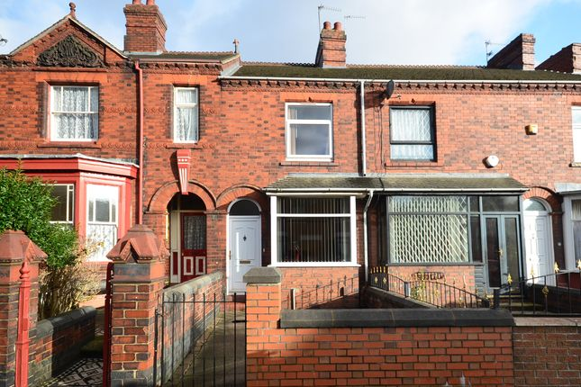 Thumbnail Town house for sale in London Road, Chesterton, Newcastle