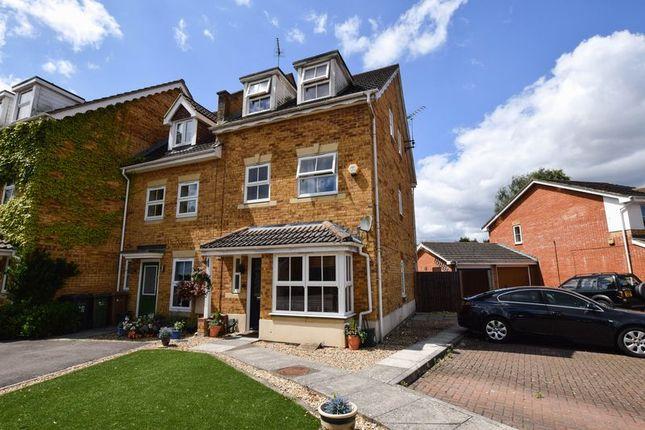 Thumbnail Town house for sale in Wellington Place, Ash Vale, Aldershot