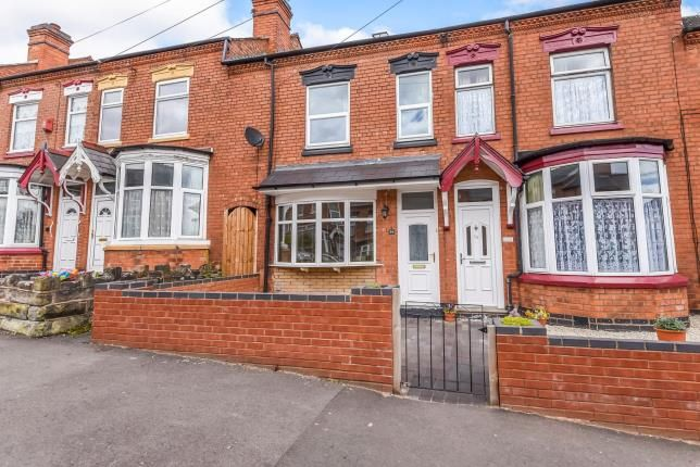 Thumbnail Terraced house for sale in Newman Road, Birmingham, West Midlands
