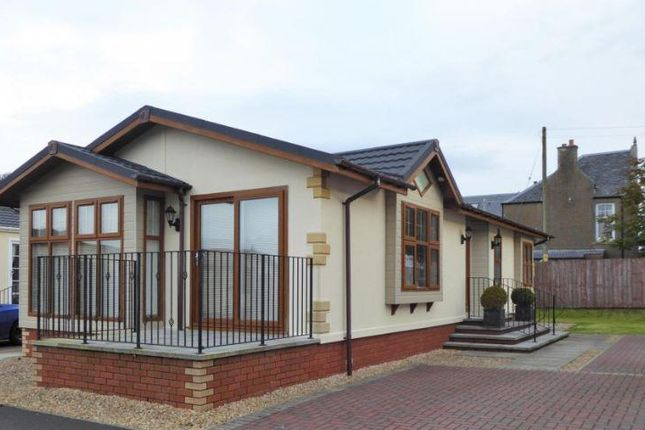 Thumbnail Mobile/park home for sale in Leven Place, Kinross