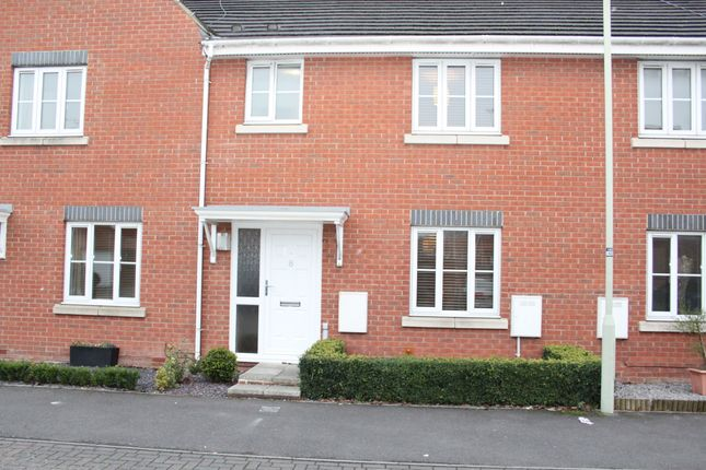Thumbnail Terraced house to rent in Hatch Road, Stratton St. Margaret Swndon