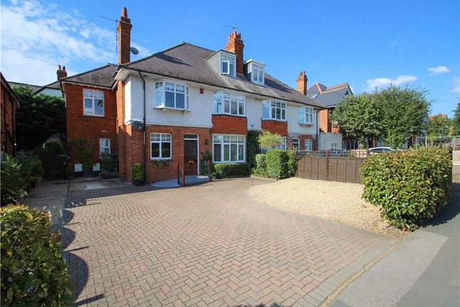 Thumbnail Semi-detached house for sale in London Road, Camberley, Surrey