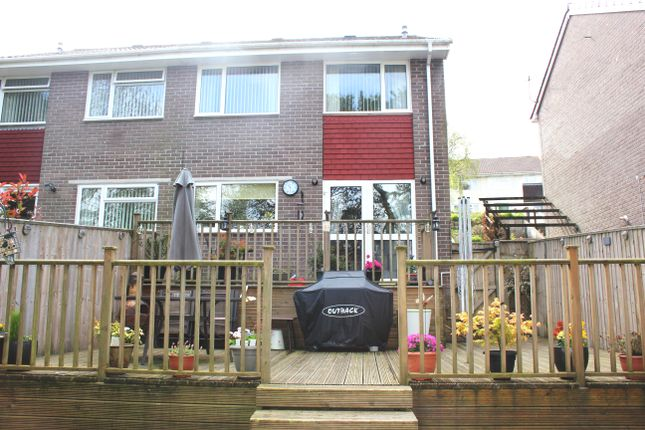 Thumbnail Semi-detached house for sale in Holmwood Avenue, Plymstock, Plymouth