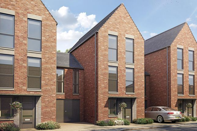 "Thumbnail Terraced house for sale in ""Elaa"" at Hauxton Road, Trumpington, Cambridge"