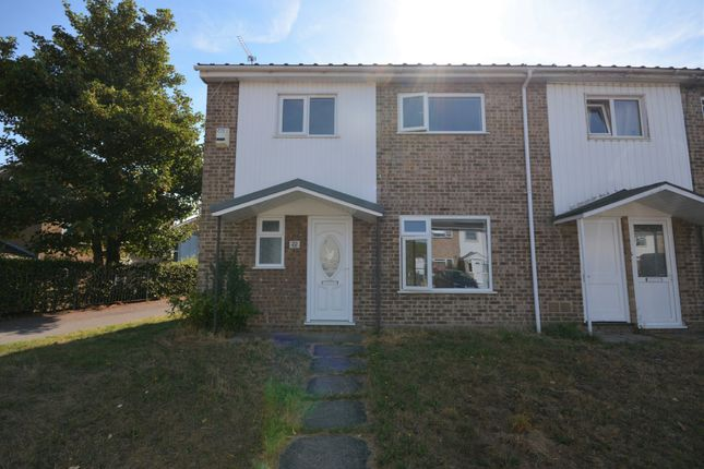 Thumbnail End terrace house to rent in Hardy Close, Lowestoft, Suffolk