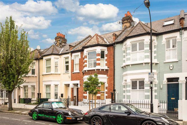 Exterior of Friston Street, Parsons Green, Fulham, London SW6