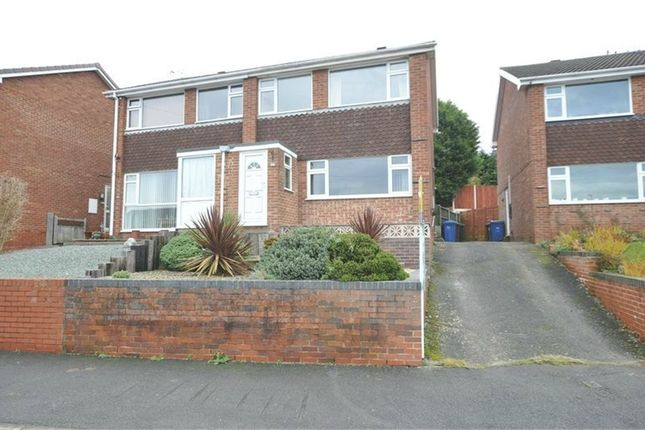 Thumbnail Semi-detached house to rent in Ridgeway Road, Burton-On-Trent, Staffordshire