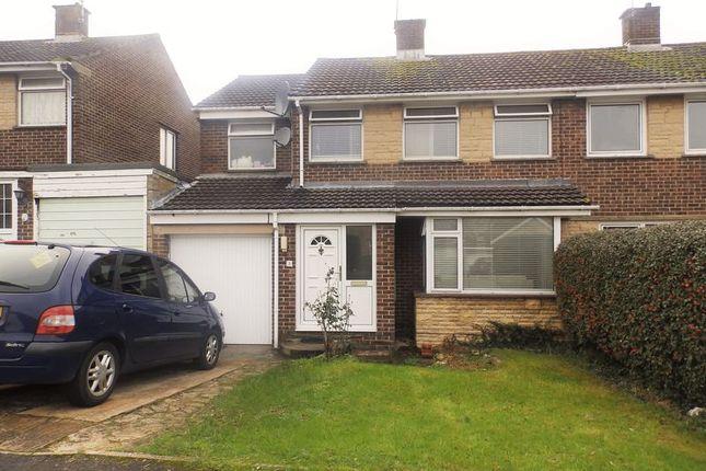 Thumbnail Semi-detached house for sale in Wylye Close, Swindon