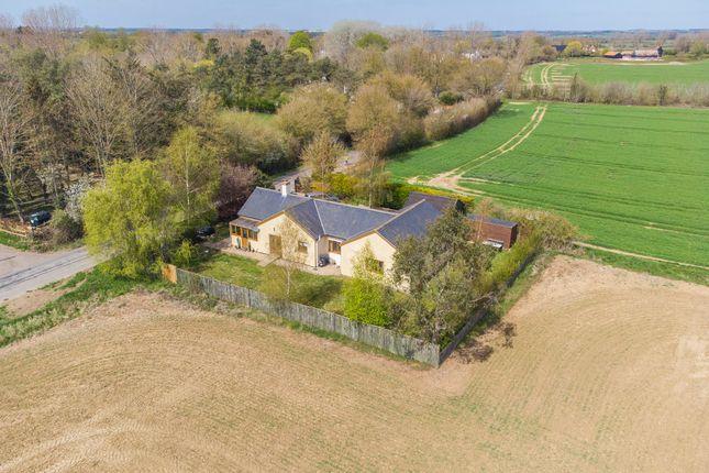 Thumbnail Detached bungalow for sale in Tilbury Road, Ovington, Sudbury