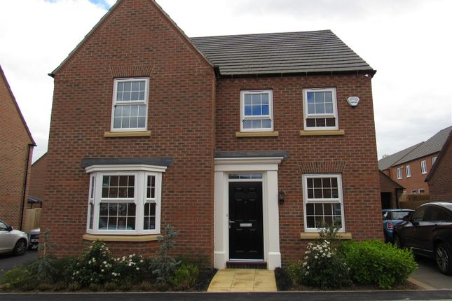 Thumbnail Detached house for sale in Rowan Road, Glenfield, Leicester