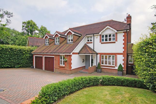 Thumbnail Detached house for sale in The Badgers, Barnt Green