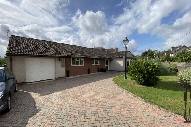 Thumbnail Detached bungalow for sale in Church Road, Undy, Caldicot