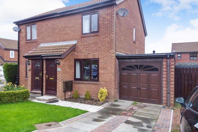 Thumbnail Semi-detached house for sale in Underwood Grove, Cramlington