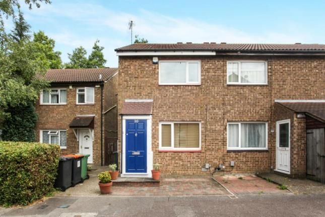 Thumbnail End terrace house for sale in Cumbria Close, Houghton Regis, Dunstable, Bedfordshire