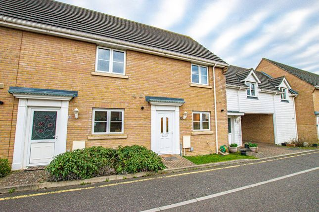 Thumbnail Terraced house for sale in Holm Drive, Dunmow