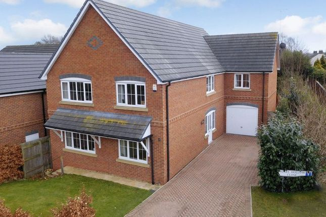 Thumbnail Detached house for sale in Foxes Hollow, Haslington, Crewe