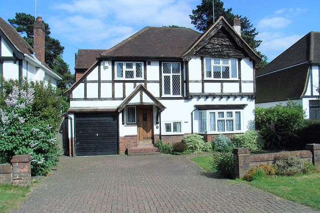 Thumbnail Detached house for sale in Woodcote Close, Epsom