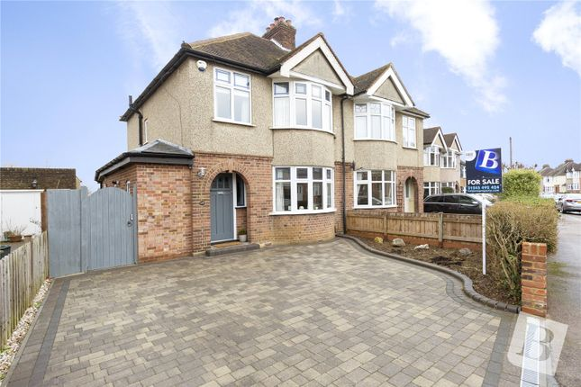 Thumbnail Semi-detached house for sale in Moulsham Drive, Chelmsford, Essex