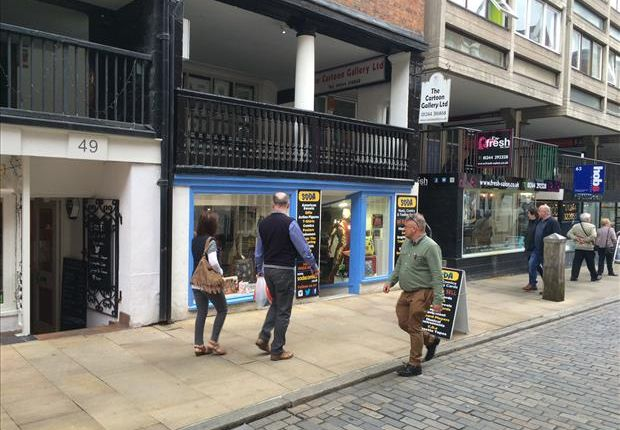 Retail premises to let in 51, Watergate Street, Chester