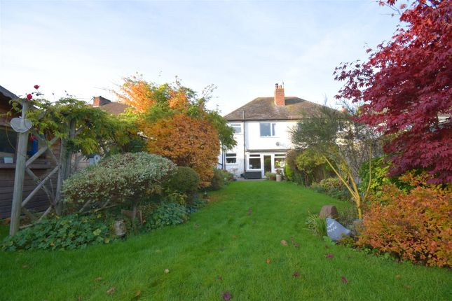 Thumbnail Semi-detached house for sale in Avon Crescent, Stratford-Upon-Avon