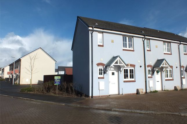 Thumbnail End terrace house for sale in Sunningdale Drive, Hubberston, Milford Haven