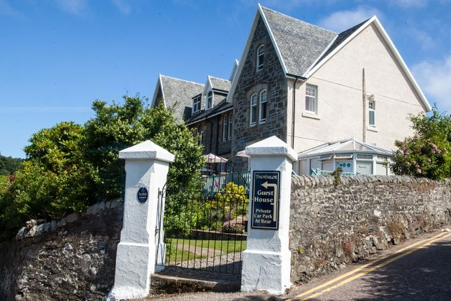 Thumbnail Detached house for sale in Thornloe Guest House, Albert Road, Oban