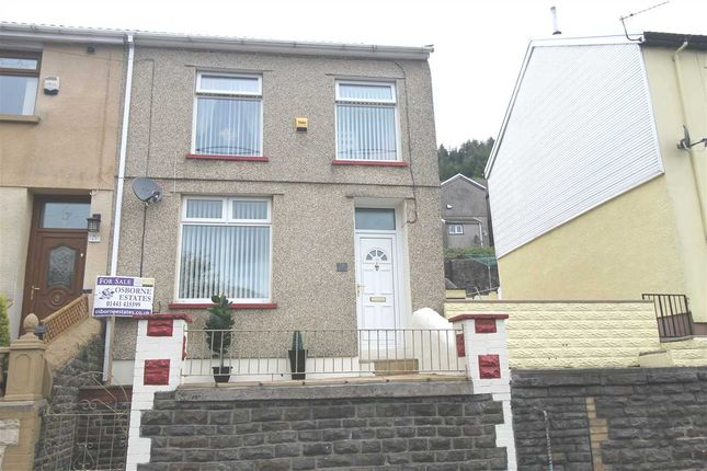 Thumbnail End terrace house for sale in Evans Terrace, Clydach, Tonypandy
