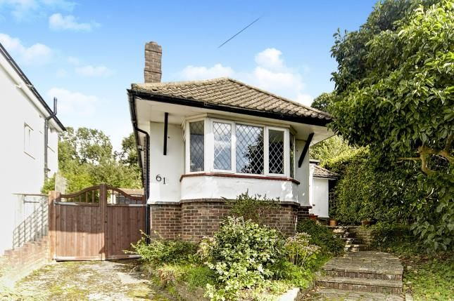 Thumbnail Bungalow for sale in Church Way, Sanderstead, South Croydon, .