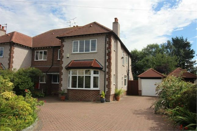 Thumbnail Semi-detached house for sale in Piercefield Road, Formby, Liverpool, Merseyside