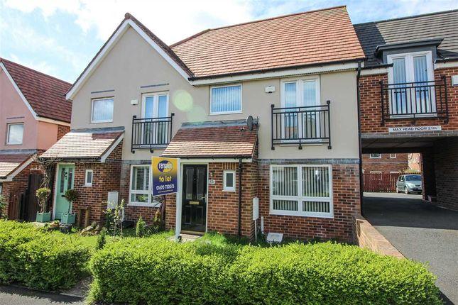 Thumbnail Semi-detached house to rent in Howard Walk, Barley Rise, Ashington