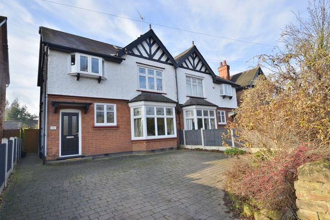 Thumbnail Semi-detached house for sale in Melton Road, West Bridgford