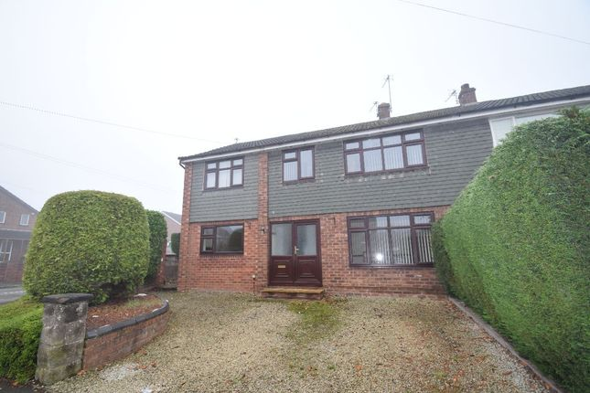 Thumbnail Semi-detached house to rent in Mentone Crescent, Edgmond, Newport