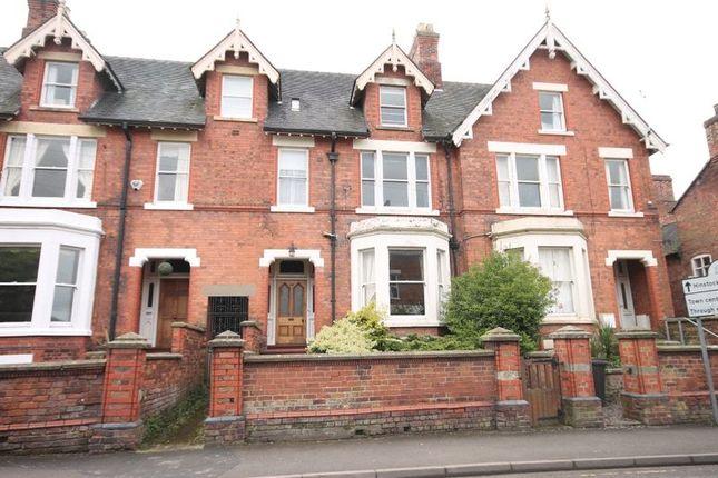 Thumbnail Terraced house for sale in Stafford Street, Market Drayton